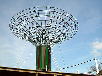 Crossed field antenna - Crossed field test antenna installed in Silsden, U.K.