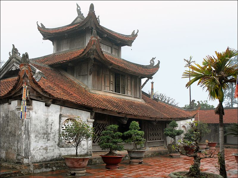 Chùa Bút Tháp ở Bắc Ninh