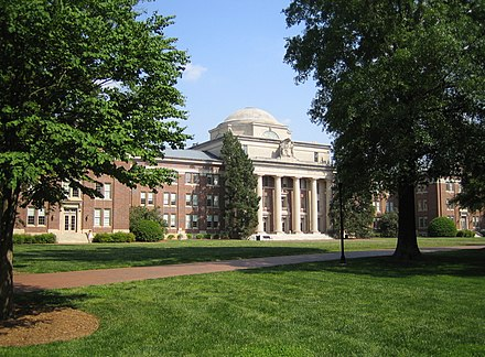 Chambers Building at Davidson College in Davidson, NC