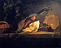 Chardin - Musical Instruments and Basket of Fruit, 1732.jpg