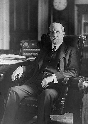 National Industrial Recovery Act of 1933 - Chief Justice of the U.S. Supreme Court Charles Evans Hughes.