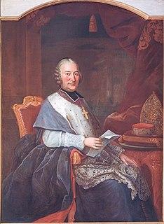 Charles-Nicolas dOultremont prince-bishop of Liège