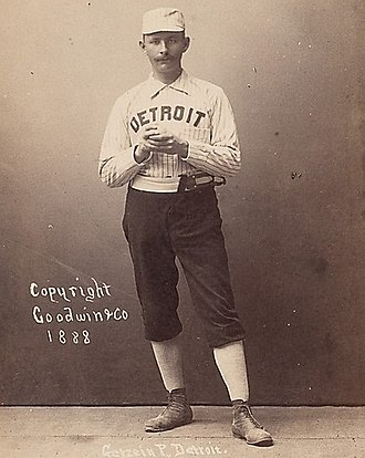 Charlie Getzein - 1888 Old Judge baseball card for Getzein
