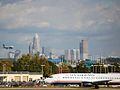 Charlotte Skyline from airport (2989949446).jpg