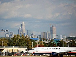 Charlotte Skyline from airport (2989949446)