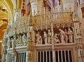 Chartres Cathédrale Notre-Dame de Chartres Innen Chorschranke 08.jpg