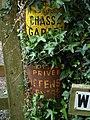 Chasse gardee, Wrigwell - geograph.org.uk - 816842.jpg