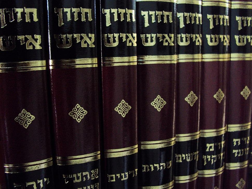 Chazonish book