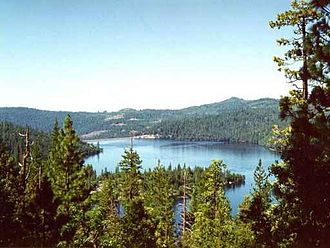 Stanislaus National Forest - Cherry Lake in Stanislaus National Forest