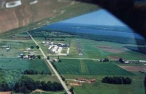 Door County Cherryland Airport - Image: Cherryland 2