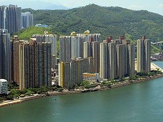 Public housing estates on Tsing Yi Island - Cheung Fat Estate