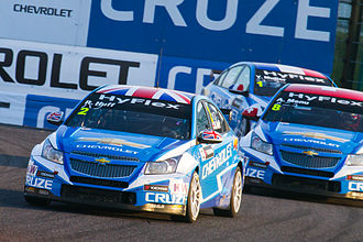 2012 World Touring Car Championship - Robert Huff won the Drivers' Championship