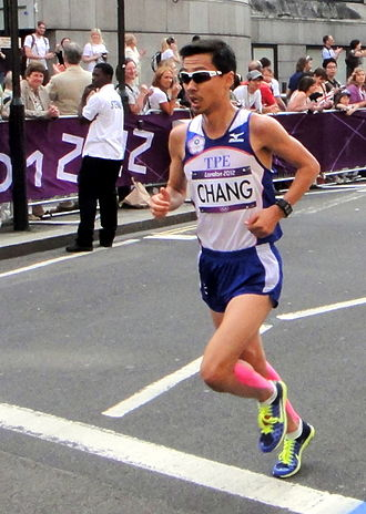 Chinese Taipei at the 2012 Summer Olympics - Chang Chia-che finished seventy-seventh in men's marathon.