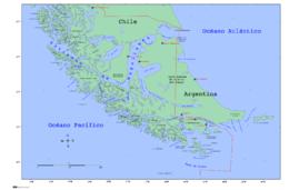 Capo Horn Cartina.Capo Virgenes Wikipedia
