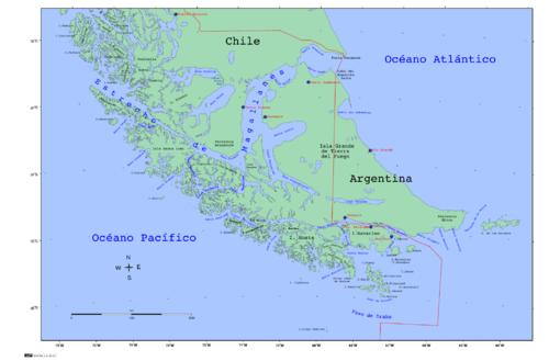 Tierra Del Fuego Simple English Wikipedia The Free Encyclopedia - Argentina map tierra del fuego