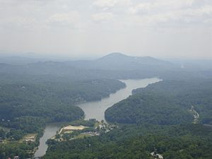 Chimney Rock, North Carolina - View from the top of Chimney Rock