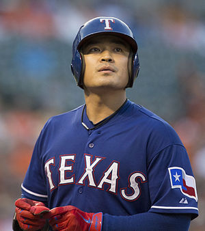 Shin-Soo Choo - Choo with the Texas Rangers in 2014