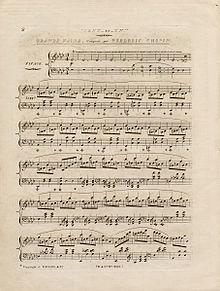 ноты шопен весенний вальс для фортепиано