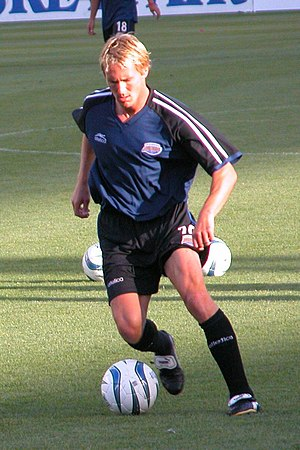 Colorado Rapids - Chris Henderson playing for the Rapids in 2004