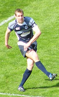 Chris Paterson Scottish rugby union footballer and coach