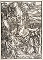 Christ on the Mount of Olives, from The Large Passion MET DP816593.jpg