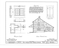 Christian Turck House, Kirchhayn, Washington County, WI HABS WIS,66-KIRHA.V,1- (sheet 3 of 5).png