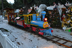 Christmas in the Park (San Jose) - Image: Christmas in the Park exhibit 3