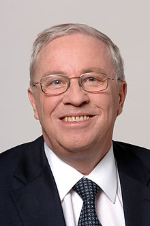 Photo officielle de Christoph Blocher (2007).