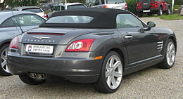 Chrysler Crossfire Roadster rear.jpg