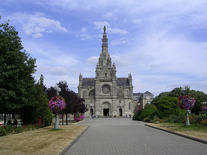 Church at St Anne d'Auray