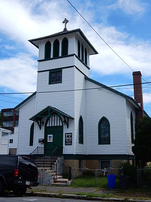 Nondenominational Christianity - Church of Broken Pieces (est. 1982) in Minersville, Pennsylvania, is a nondenominational church.