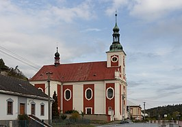 Church of Saint Nicholas - Lichnov, Bruntal District, Czech Republic 22.jpg
