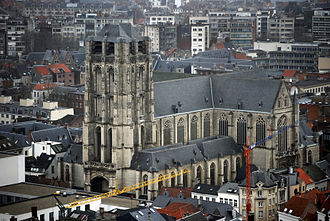 St. James' Church, Antwerp - St. James' Church, seen from the south-west