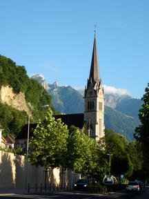 Liechtenstein-Religion-Church vaduz