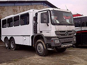Combination bus - Image: Cikupa 20111121 00147 manhauler bus