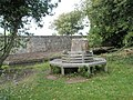 Circular seat within Bosham churchyard - geograph.org.uk - 928625.jpg