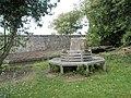 Circular seat within Bosham churchyard - geograph.org.uk - 928625.jpg