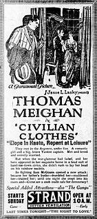 <i>Civilian Clothes</i> 1920 film by Hugh Ford