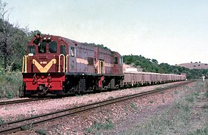 1973 in South Africa - Class 91-000 (GE UM6B)