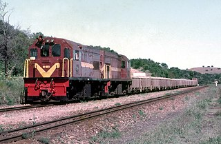 South African Class 91-000 diesel-electric locomotive class