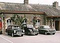 Classic cars, on display, at Buckfastleigh station - geograph.org.uk - 1449573.jpg