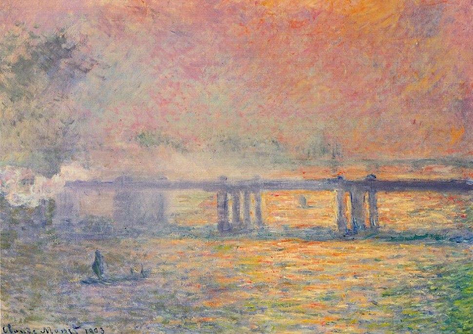 Claude Monet - Charing Cross Bridge (Saint Louis)