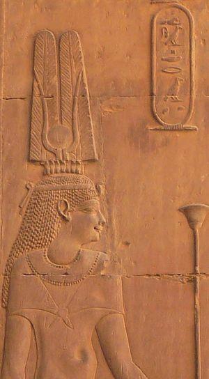 Cleopatra III of Egypt - Image: Cleopatra III at Kom Ombo