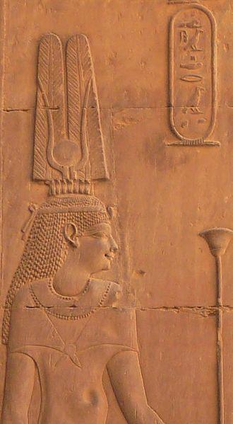 Cleopatra III of Egypt - Cleopatra III at Kom Ombo