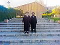 Clevelander Rebbe and Yosef Yehudah Sherman.jpg