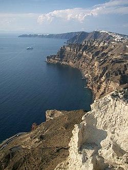 Берег эгейского моря