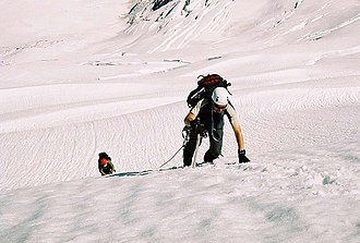 Third Man factor - Two mountain climbers.
