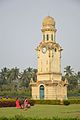 Clock Tower - Hazarduari Complex - Nizamat Fort Campus - Murshidabad 2017-03-28 6361.JPG