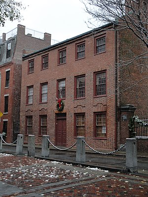 North End, Boston - The Clough House, built in 1712