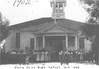 Clovis High School (Clovis, California) - Clovis High School, 1908